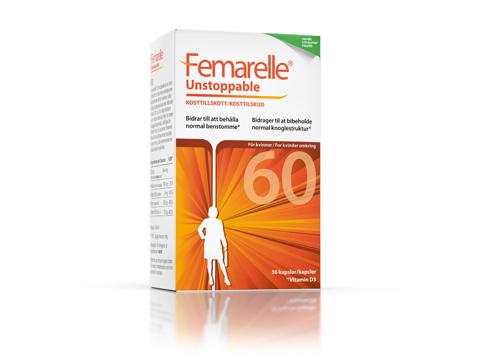Femarelle Unstoppable för kvinnan som passerat klimakteriet.